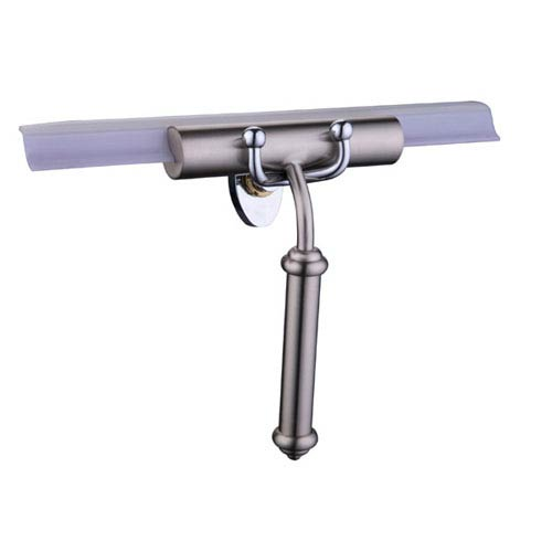 Polished Nickel Smooth Handle Squeegee