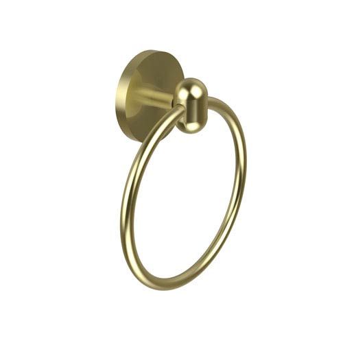 Tango Collection Towel Ring, Satin Brass