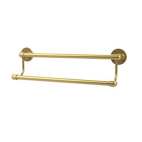 Allied Brass Tango Polished Brass 30 Inch Double Towel Bar Ta 7230