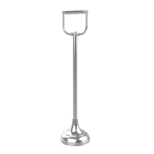 Allied Brass Free Standing Toilet Tissue Holder, Polished Chrome