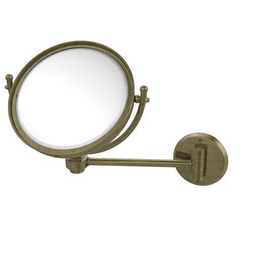 8-Inch Wall Mounted Make-Up Mirror 4X Magnification