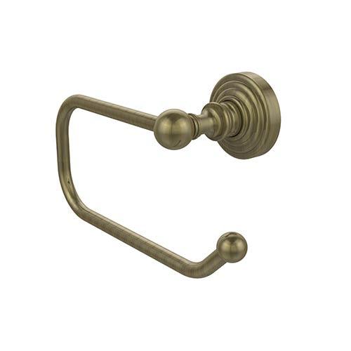 Waverly Place Antique Brass Euro-Style Toilet Tissue Holder