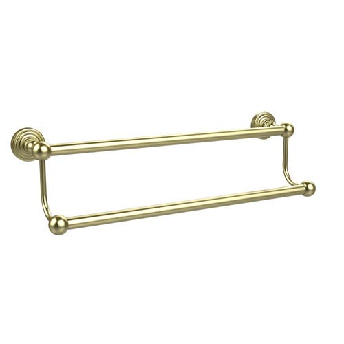 Waverly Place Collection 36 Inch Double Towel Bar, Satin Brass