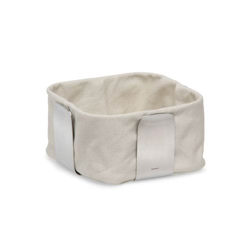 Desa Sand and Stainless Steel Bread Basket