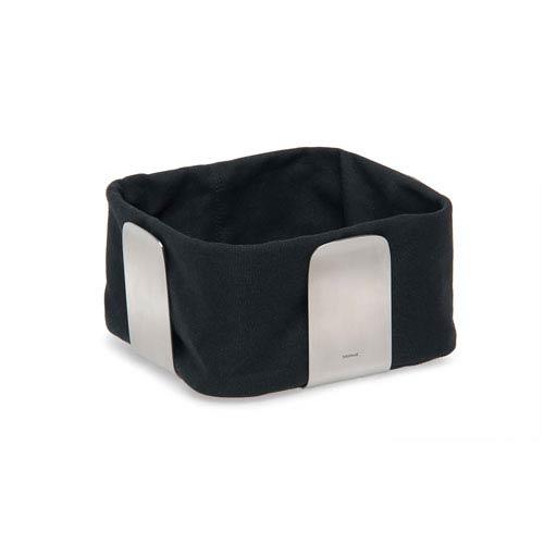 Desa Black and Stainless Steel Bread Basket