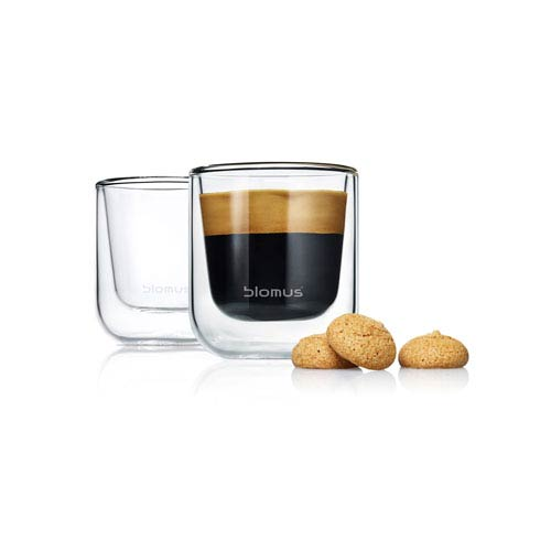 Set 2 Insulated Espresso / Tea Glasses