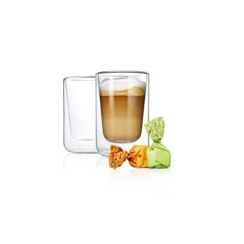 Set 2 Insulated Cappuccino / Tea Glasses