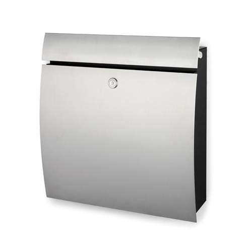 Brushed Stainless Steel Letter Box