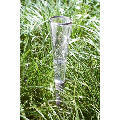 Campo Brushed Stainless Steel Rain Gauge Cone - Small