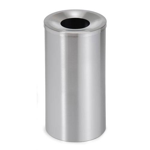 Casa Brushed Stainless Steel Waste Bin Solid - Large