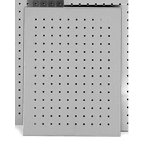Muro Brushed Stainless Steel Perforated Magnet Board