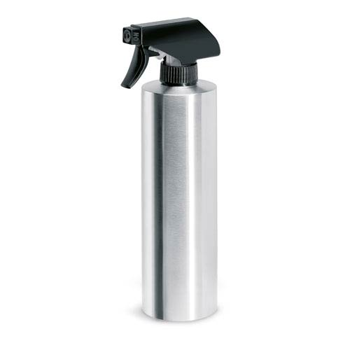 Greens Brushed Stainless Steel Mister
