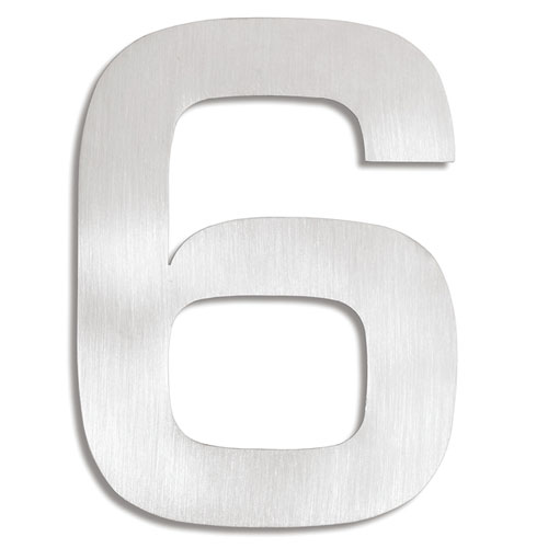 Signo Brushed Stainless Steel House No. 6