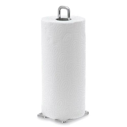 Blomus Wires Brushed Stainless Steel Paper Towel Holder - Small