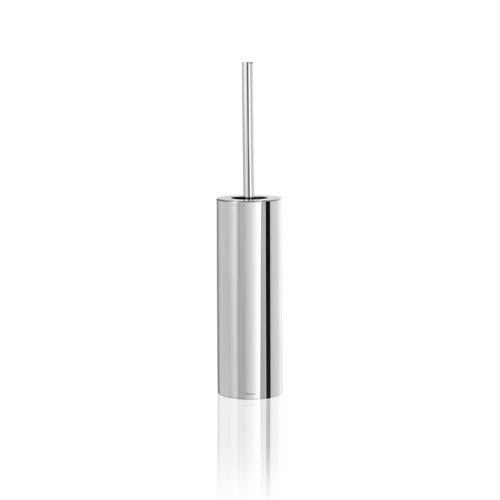 Nexio Polished Stainless Steel Toilet Brush - Four Inches Wide