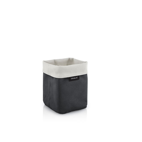 Reversible Storage Basket, Tall, Sand-Anthracite