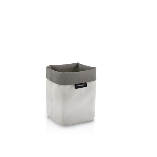 Reversible Storage Basket, Tall, Sand-Taupe