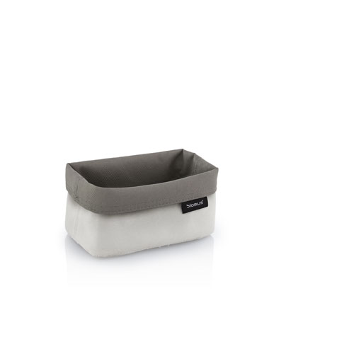 Reversible Storage Basket, Small, Sand-Taupe