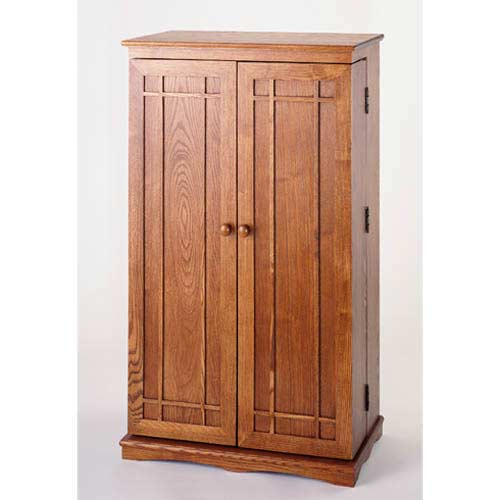 Classic Dark Oak Multimedia Cabinet