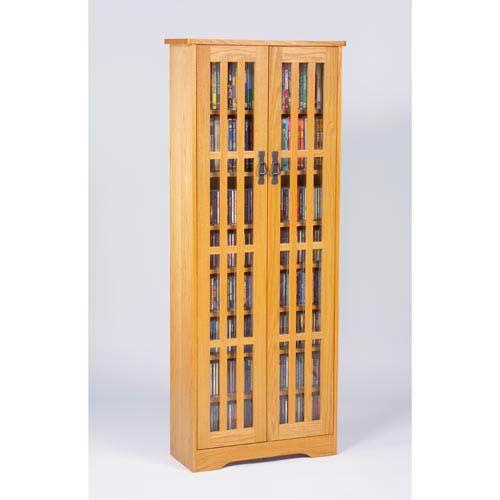 Mission Medium Oak Multimedia Cabinet