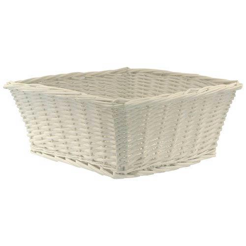Willow Large White Basket