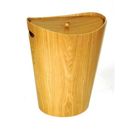 Redmon Company Elegante Ash Wood Hamper