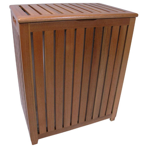 Genuine Teak Hamper with Bag