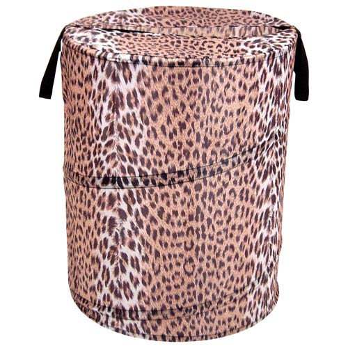 Redmon Company Original Bongo Bag Cheetah Pattern Pop Up Hamper