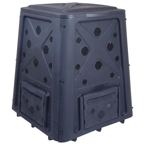 Redmon Company Green Culture Black 65-Gallon Compost Bin