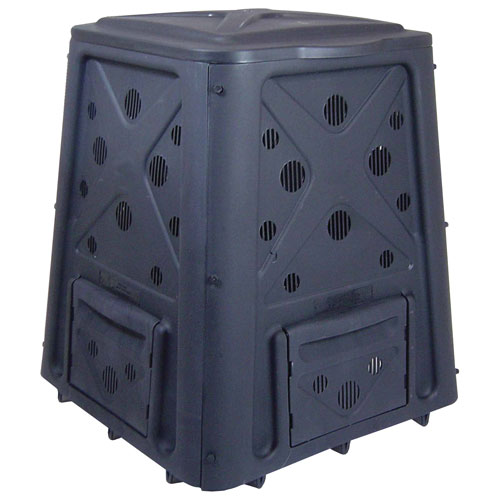 Green Culture Black 65-Galllon Compost Bin PLUS The Original Wingdigger Combo Set