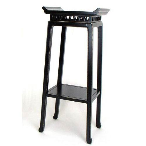 Antique Black Chow 42-Inch Pedestal