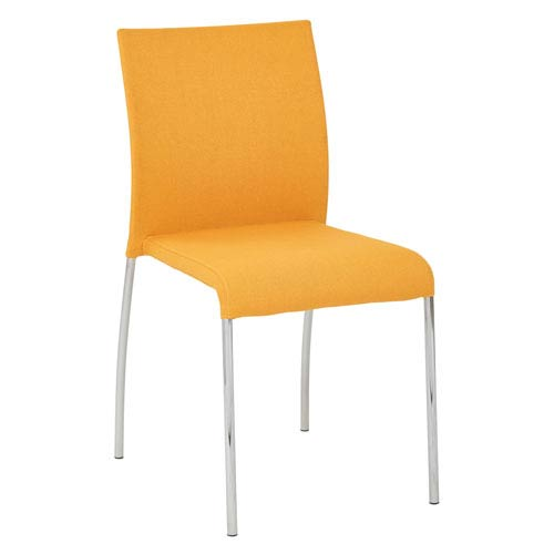 Conway Stacking Chair in Nugget Fabric, 4-Pack