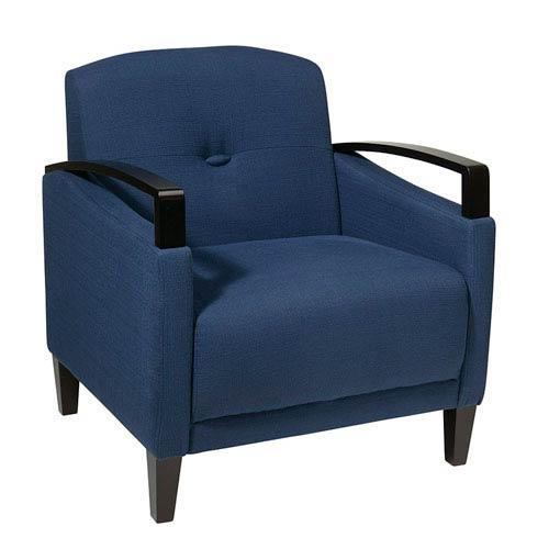 Avenue Six Main Street Woven Indigo Chair