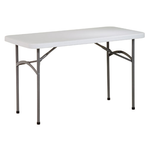 Work Smart Four Foot Resin Multi Purpose Table