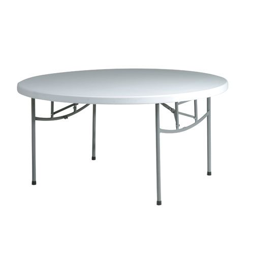 Work Smart 60 Inch Round Resin Multi Purpose Table