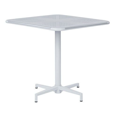 Albany White 30-Inch Square Folding Table