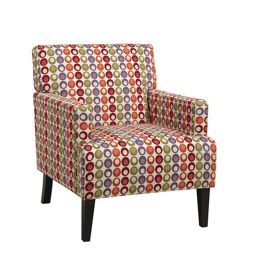 Avenue Six Carrington Flair Confetti Arm Club Chair
