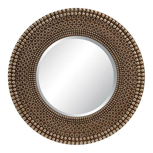 Lyon Wall Mirror in Antique Bronze Finish