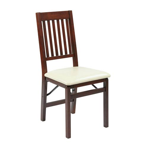 Hacienda Cream Folding Chair, Set of 2
