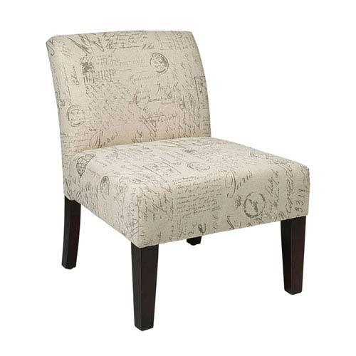 Avenue Six Laguna Script Chair