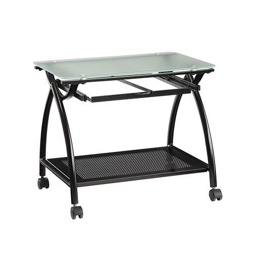 Office Star Products Newport Black Mobile File