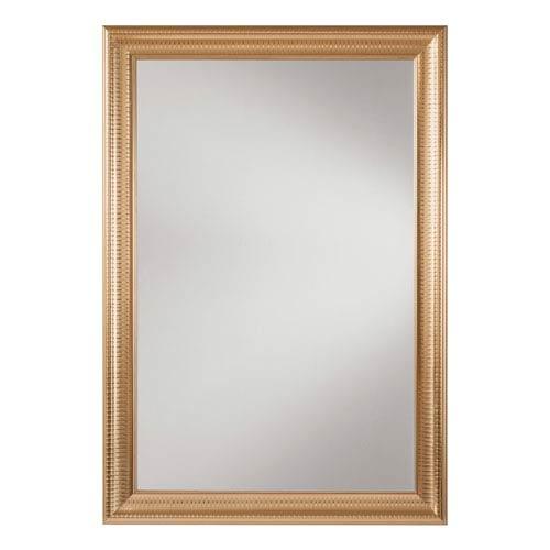White Gold Wall Mirror