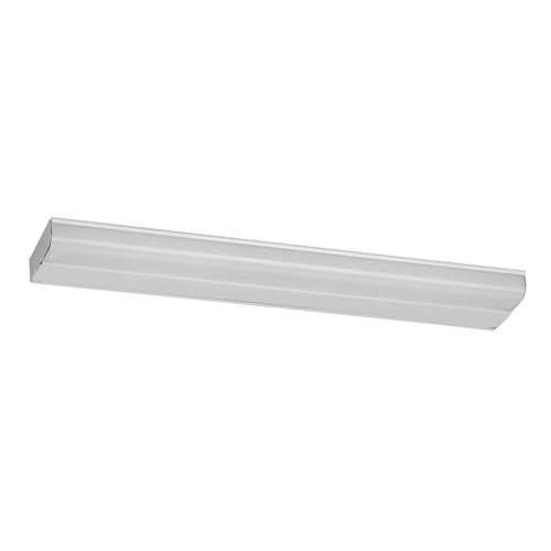 T5 Fluorescent Two-Light White Under Cabinet Lighting