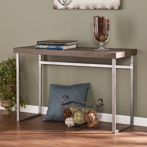 Nolan Burnt Oak Console Table