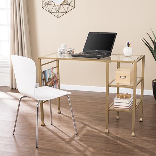 Jaymes Soft Gold Desk