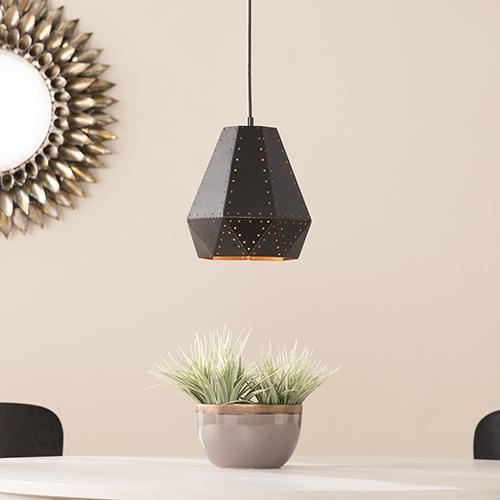 Calzada Matte Black LED Mini Pendant