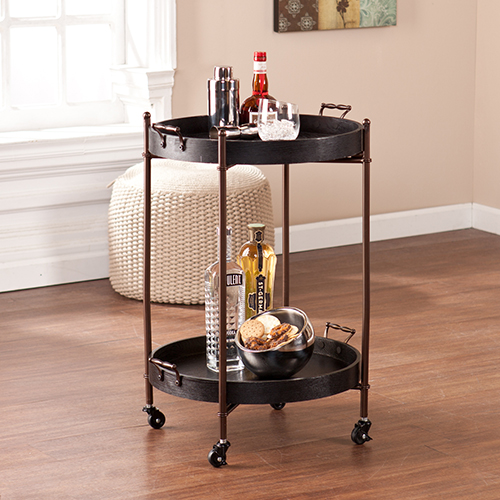Alfred Black Accent Table