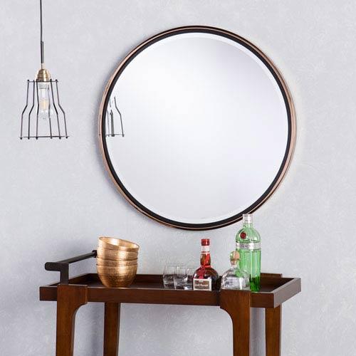 Wais Round Wall Mirror