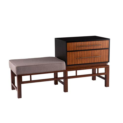 Holly and Martin Brock Storage Bench