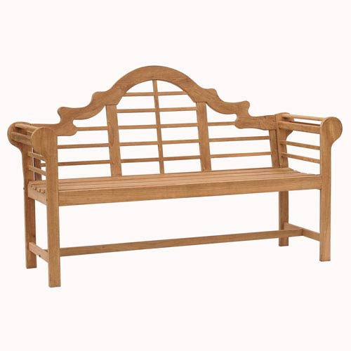 Southern Enterprises Five-Foot Teak Lutyens Bench